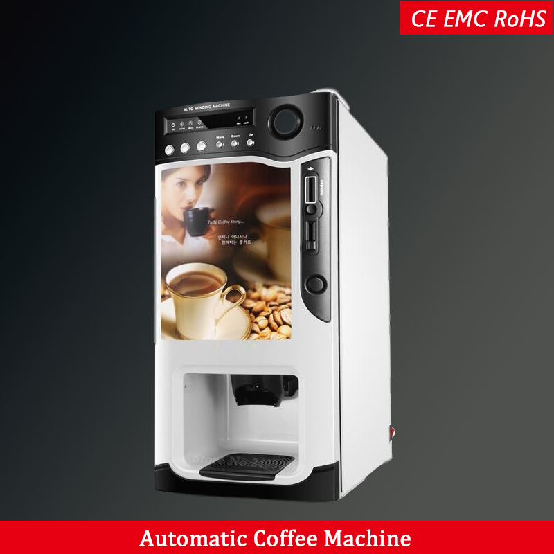 Coffee Maker for Commercial Instant and coin Automatic Espresso Coffee vending Machine