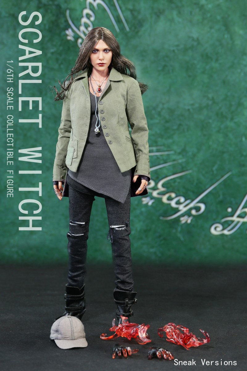 1/6 Scale Avengers Age of Ultron Wanda Scarlet Witch  full set Action Figure Toy War Version for Collections 1 6 scale resident evil 6 leon scott kennedy full set action figure for collections