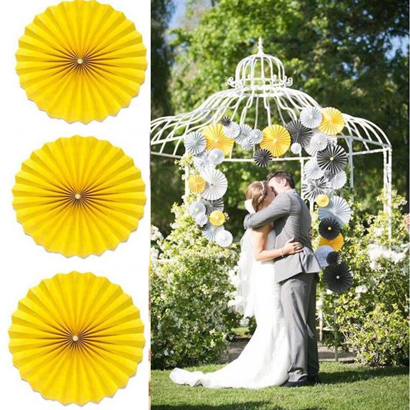 cm pulgadas de perlas fans papel de seda flores bolas linternas party decor