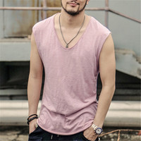 New Tank Top Men Undershirt Brand High Quality Men S Vest Bodybuliding Gym Clothing Singlets Men