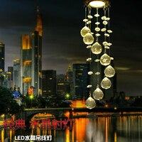 Mini Modern Crystal Ceiling Light Fixture Spiral Crystal Lamp Crystal Lustre Light Fitting LED For Aisle