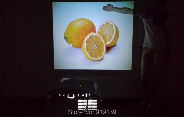 802 projector testing under nighttime indoor 5