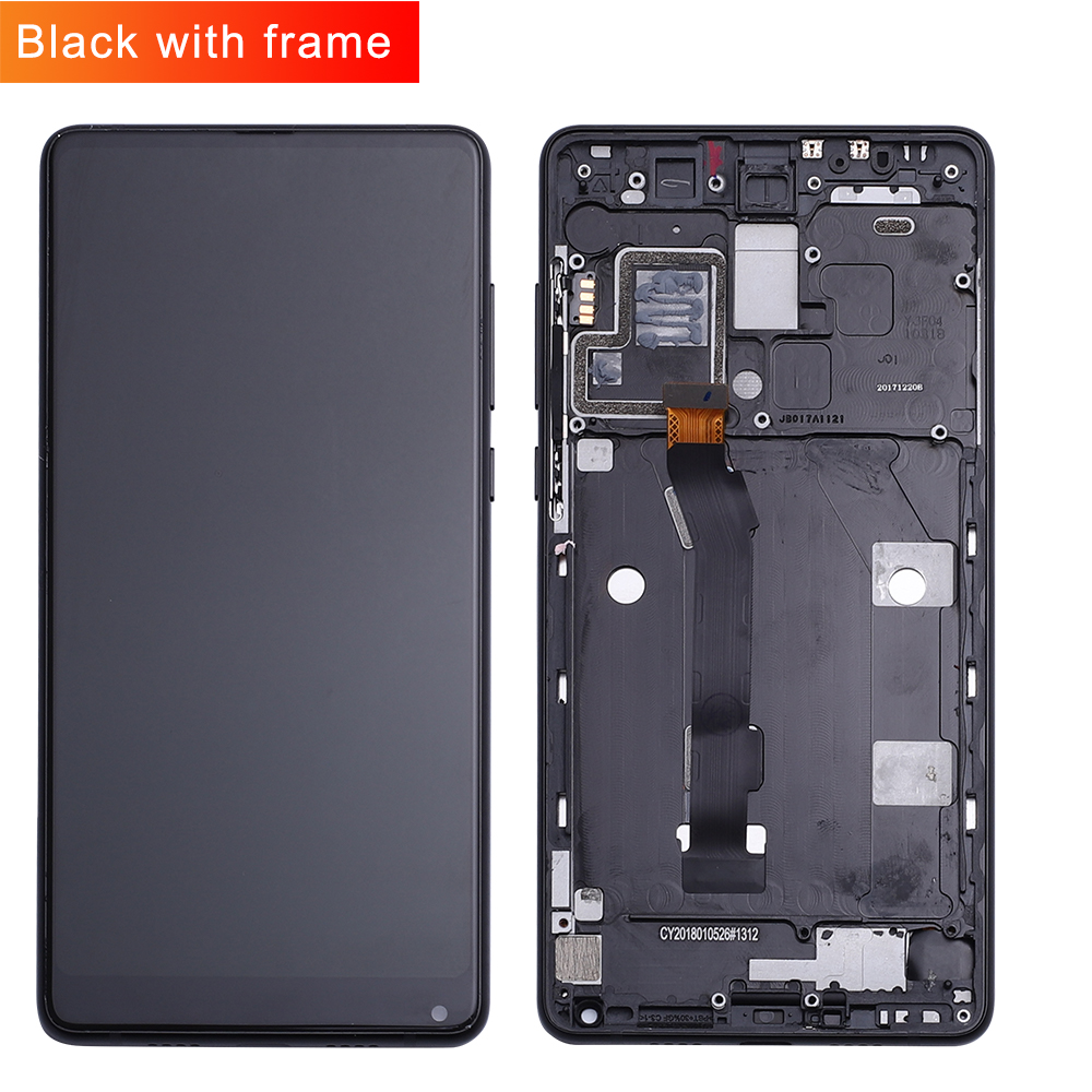 Xiaomi Mi Mix LCD Display Touch Screen Digitizer Assembly With Frame For 5.99 Xiaomi Mi MIX2 LCD Black/White Replacement PartsXiaomi Mi Mix LCD Display Touch Screen Digitizer Assembly With Frame For 5.99 Xiaomi Mi MIX2 LCD Black/White Replacement Parts