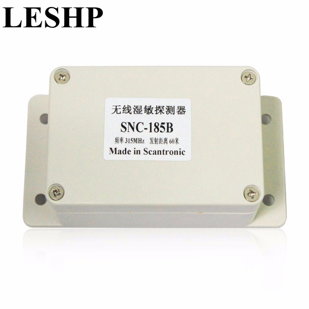LESHP 12VDC Wireless Water Immersion Sensor Water Liquid Overflow Leak Detector Switch Signal Sensor Probe For Alarm System