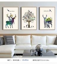 3pcs set home decor canvas painting,no frame