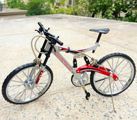 Diy Puzzle Simulation Bicycle Model Fine Alloy Assembled Bicycle Toy for Gift