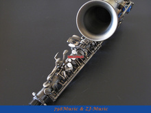 Antique Bronzy Eb Alto Saxophone High F# With-White Pearl Buttons