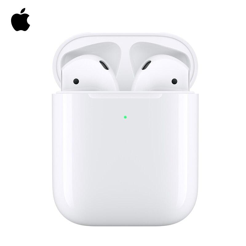Apple AirPods avec étui de charge sans fil, casque bluetooth sans fil, portable