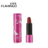 FLAMINGO Brand Waterproof Charming Lipstick Cosmetics Matte Long Lasting Lipstick Makeup Lip Gloss Beauty Lip Tint