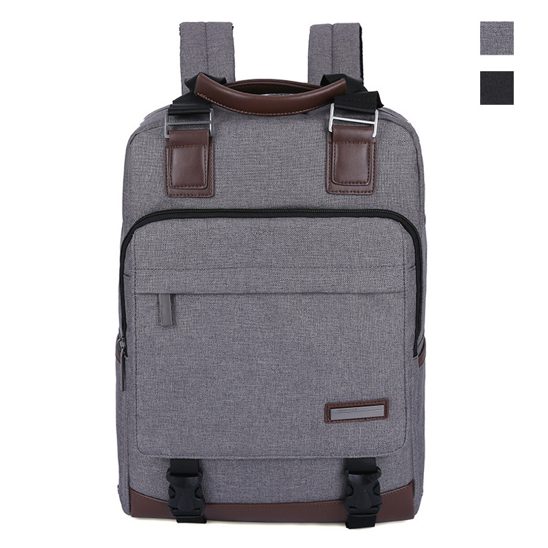 DTBG Men Business College Travel Backpack with Leather Casual Daypack School Laptop Bagpacks for Teenage boys Bookbag xiaomi 90fun brand leisure daypack business waterproof backpack 14 laptop commute college school travel trip grey