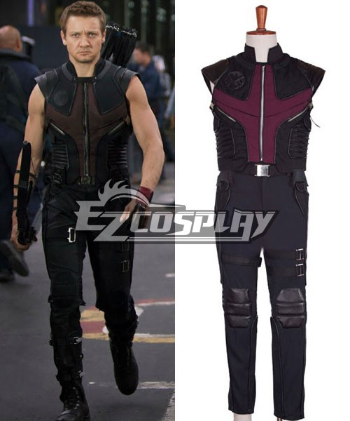 I Vendicatori Clint Barton Hawkeye Cosplay E001