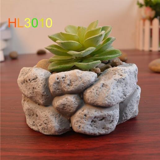 Como hacer macetas con cemento y piedras casa dise o - Macetas de piedra para jardin ...