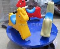 Fadeless дети Детские площадки оборудование оцинкованной Сталь антикоррозионные карусели safe kids ездить hz 068