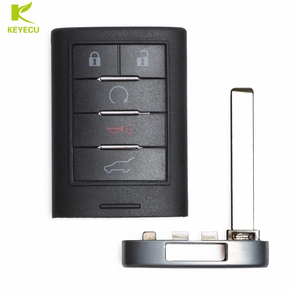 Keyecu Smart Proximity Remote Key 315mhz 5 Button For 2010