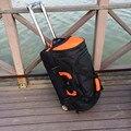 Grande capacità di Borsa Da Viaggio valigia di rotolamento dei bagagli sacchetto di Oxford, trolley delle donne degli uomini di 27