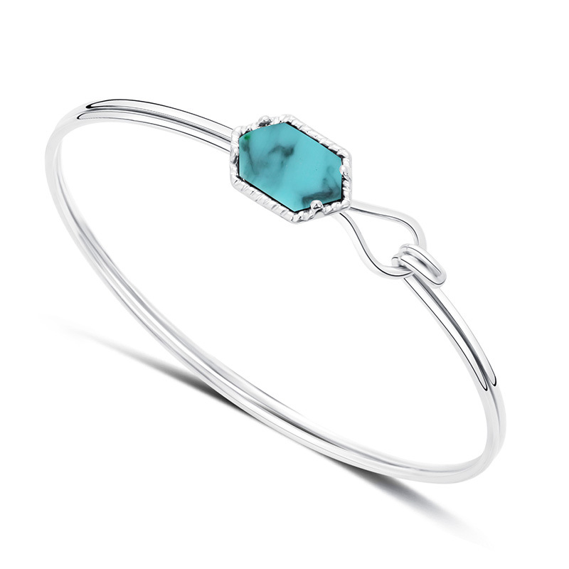 B1945 (13)Silver Turquoise