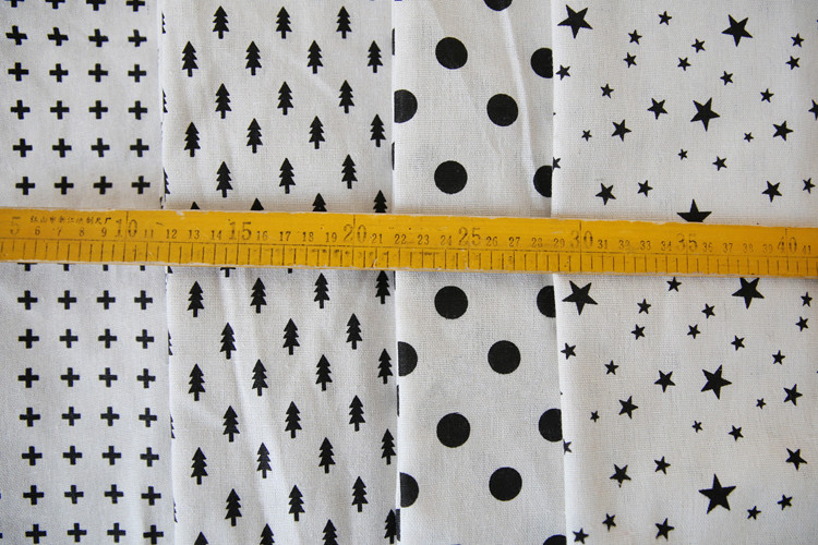Kussen Wit 16 : Gratis verzending eenvoudige zwart wit geometrische printing linnen