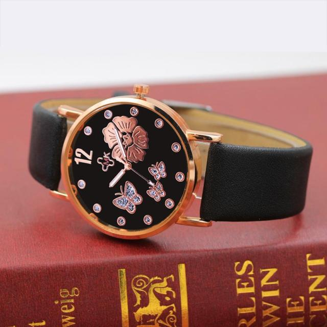Bracelet Leather Simple Strap Watches Luxury Wrist Watches 5