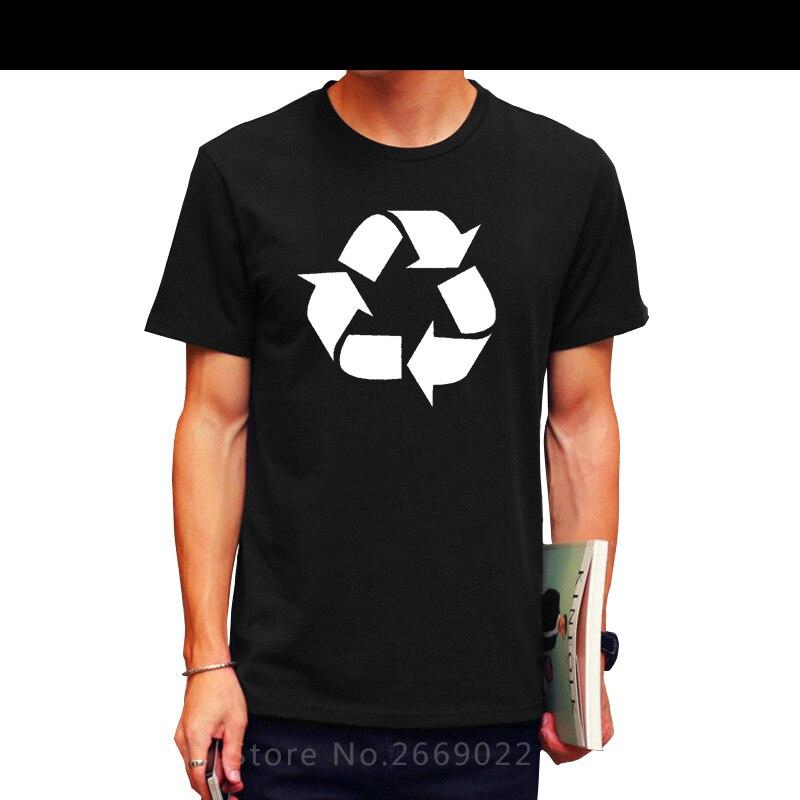 The Big Bang Theory T-shirt Leonard Recycling logo print t shirts men geek TBBT tshirt Plus Size Cotton Printed Tops&Tees Shirts