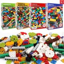 Legoed игрушка 1000 шт. lepins город строительные Конструкторы комплект LegoINGLY DIY блоки конструктора друзья создатель запчасти Brinquedos образование игрушечные лошадки