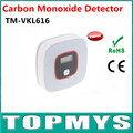 Free Shipping 100pcs/lot CO Carbon Monoxide Detector Tester Fire Alarm Monitor LCD CO Sensor Detector Home Security TM-VKL616