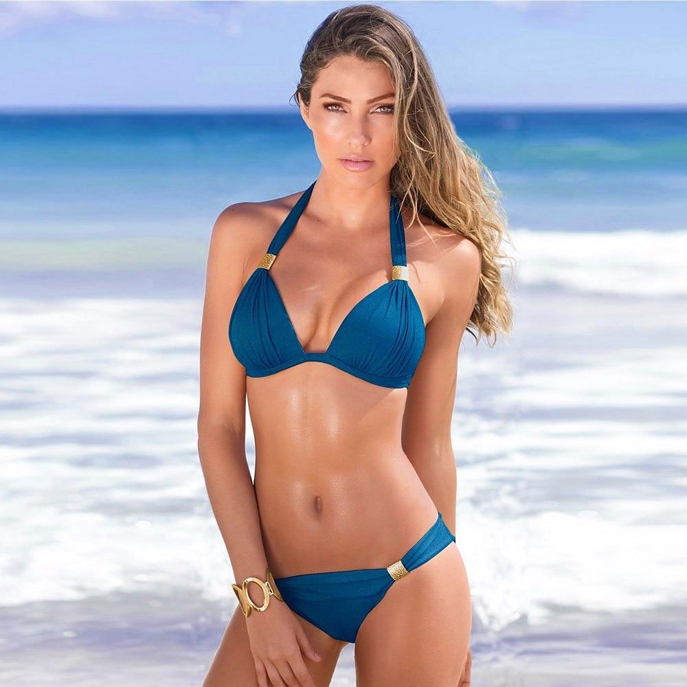 Hot Sale Bikinis Set 2020 Swimsuit Women Bandage Beachwear Bathing Suits Biquini Swim Wear Swimwear Brazilian Bikini Sexy Top 5