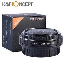 K & F Concepto Pro Lente Adaptador de Montaje para Canon FD, nueva FD, fl lente para canon eos cámara para canon 1d, 1DS MARK ii, Mark III, IV, 1DX, 1DC