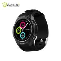 Azexi l1 سمارت ووتش الرياضة ووتش متعددة المهام موقف ثابت cpu تتبع القلب رصد معدل ضغط الدم رصد النوم