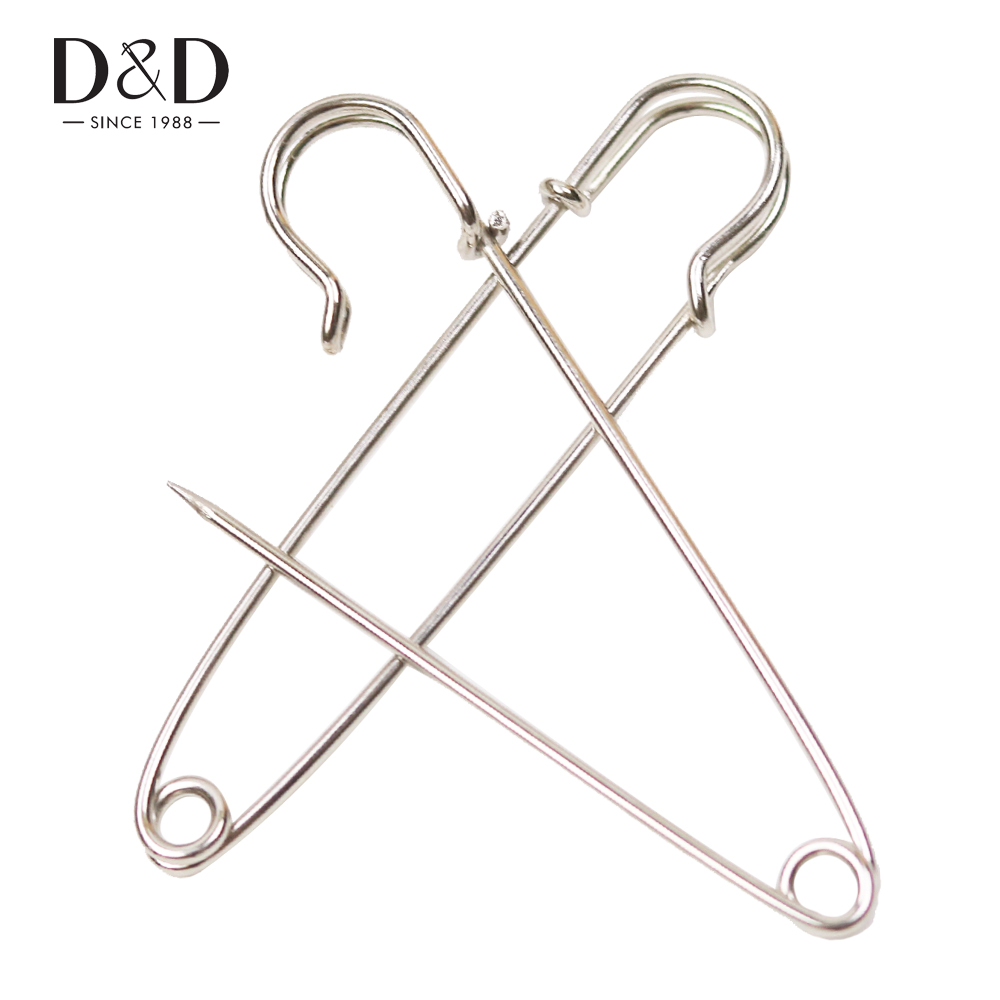 High-quality 4pcs Iron Kilt Pins Stainless Steel Safety Pins DIY Craft Garment Accessories Supplies 76mm