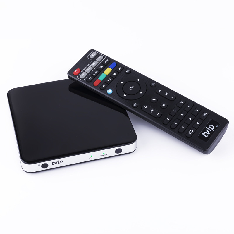 TVIP 412 Smart TV Box Linux OS Support Quad Core TVIP412 4K Super Clear Double System Linux or Android 6.0 OS Set Top Box 5pcs android tv box tvip 410 412 box amlogic quad core 4gb android linux dual os smart tv box support h 265 airplay dlna 250 254