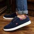 20% OFF Men Shoes New Suede Leather Flat Men's Fashion Casual Shoes Solid Male Footwear For Men Zapatos Hombre