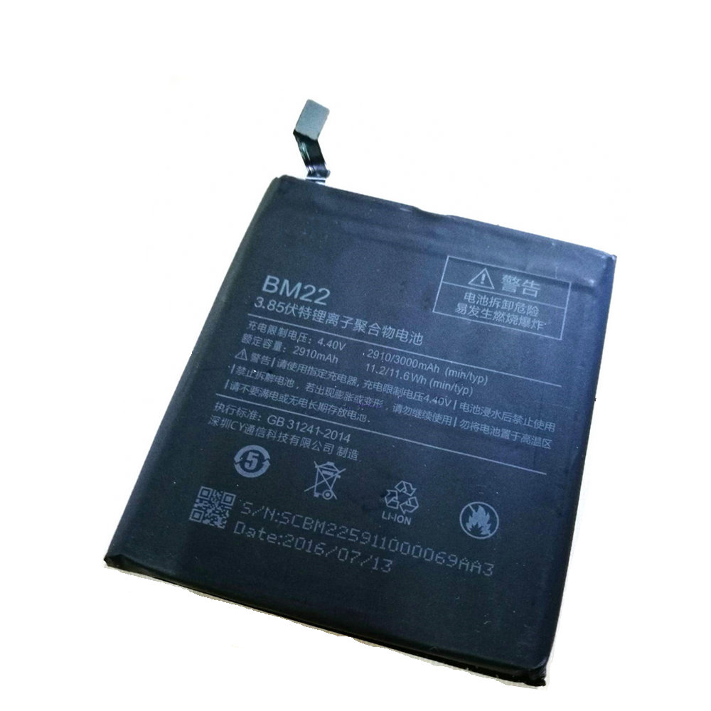 Usb-kabel + Neue Hohe Qualität 2910 mAh-3000 mAh KLEID-FESTZUG-BM22 Batterie für Xiaomi Mi5 M5 Prime 5,15