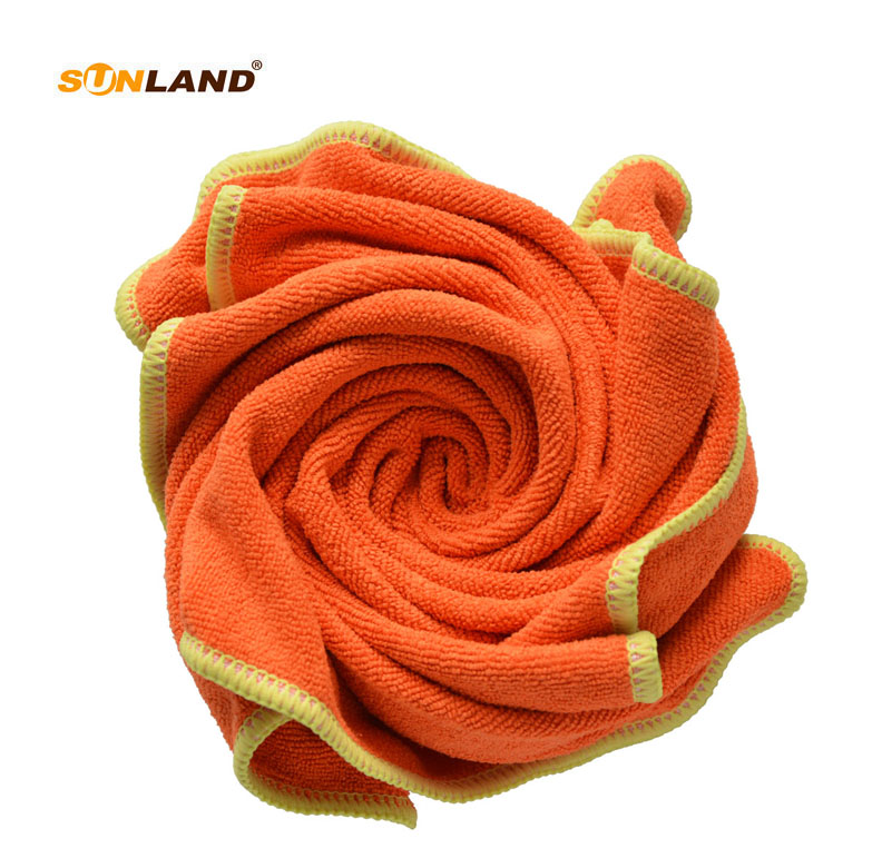 Sinland 36cmx36cm Microfiber Cloth Microfibre Towel Multipurpose Cleaning Fabric Kithcen Furniture kitchen Wipe Rags 20 Pieces