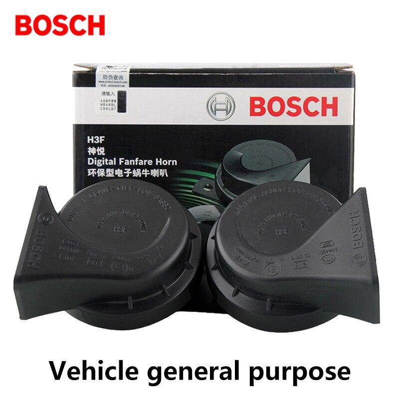 BOSCH Auto Claxon Hörner Air Horn Wasserdicht Universelle Schnittstelle Original Qualität 12 V 0986AH07604HK