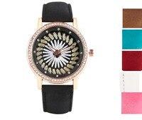 YISUYA Trendy Sewing Women Watches Black Brown Leather Band Elegant Quartz Wrist Watch Casual Sport Style Reloj For Girl Gift