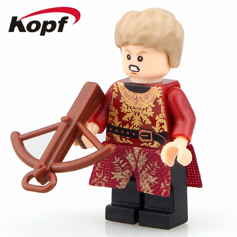 Super Heroes Game of Thrones Figures Joffrey Lannister Ice and Fire Series Bricks Building Blocks Kids Toys Christmas Gift PG938