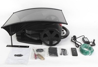 Hot Sale Robot Lawn Mower With Rain Cover Black Robotic Lawn Mower With Good Quality Home Appliances