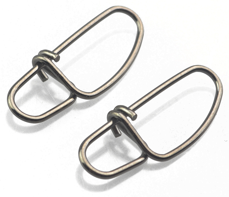 Free shipping 200pcs lot sk 0 5 stainless steel for Swivel hook fishing