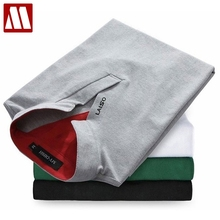 New Fashion Brand Men Polo Shirt Solid V-Neck Short-Sleeve Slim Fit Shirt Men Cotton Polo Shirts Casual Shirts Plus Size 4XL 5XL
