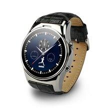 Heißer Verkauf 2016 Neue Runde Smart Uhren LW03 Bluetooth 4,0 Smartwatch Usb-anschluss MT2502C Für Android Und IOS Smartphone