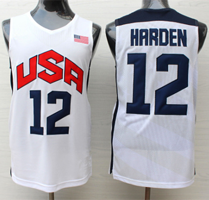 #13 James Harden 2014 Dream Team USA basketball jersey Embroidery Stitched