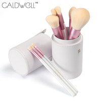 CALDWELL Professional Makeup Brushes Set 10pcs High Quality Synthetic Goat Hair Makeup Tools Kit With Tube