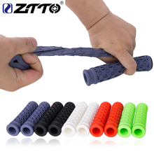 ZTTO MTB Mountain Bike Road Bicycle Real Silicone Shock-Proof Grips Anti-Slip