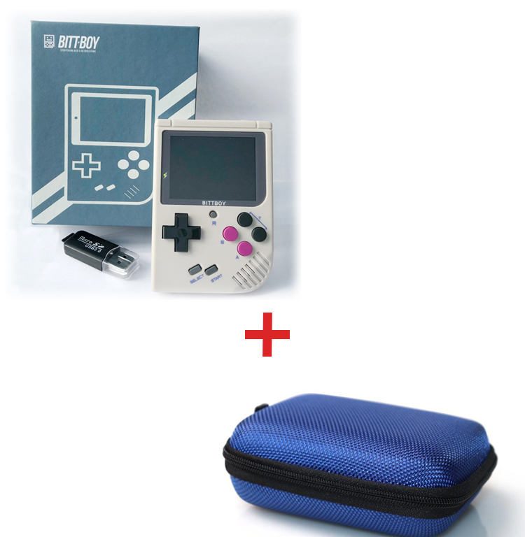 Game Console BittBoy V3 5 8GB Protective Pocket Bags retro console Handheld game players