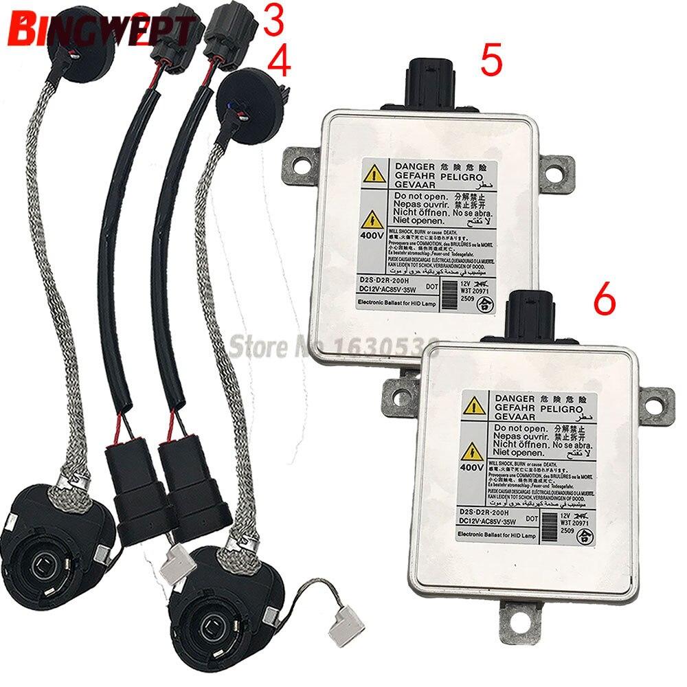 2PCS NEW Xenon HID Headlight Ballast W3T19371 W3T16271 W3T20671 W3T20971 for Mitsubishi Mazda For Acura kit