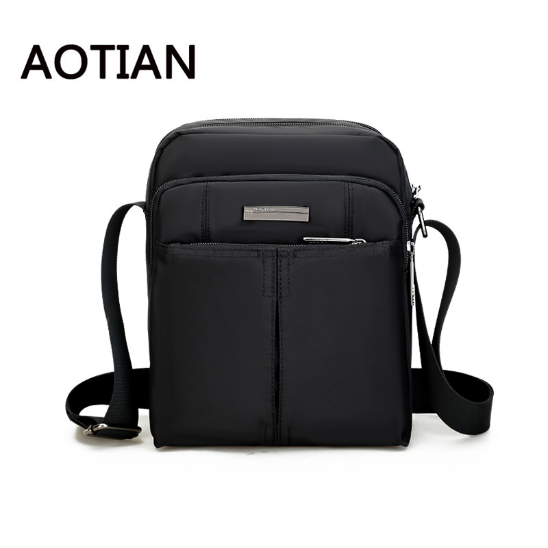 AOTIAN Brand Crossbody Bags For Men Fashion Waterproof Men Nylon Messenger Bag Hand Bag Travel Casual Tote Birthday Gift anime assassination classroom cosplay fashion casual men and women travel bags birthday gift