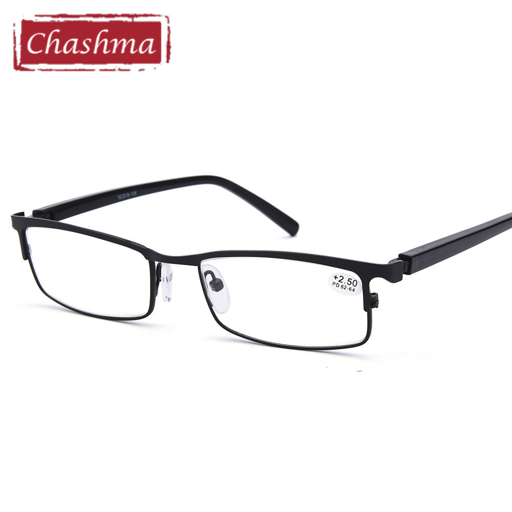 Reading Glasses Spring Hinge Anti Lensa Clear Reflective Optical Presbyopia Glass for Men 1.5