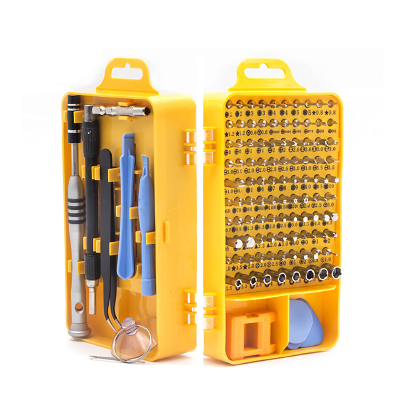108 in 1 Screwdriver Set Multi-function Computer PC Mobile Phone Cellphone Digital Electronic Device Repair Home Tools Bit 2 in 1 cellphone