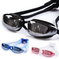 10 Colors Anti Fog Anti Ultraviolet Swimming Goggles Men Women Unisex Coating Swimming Glasses Adult Water