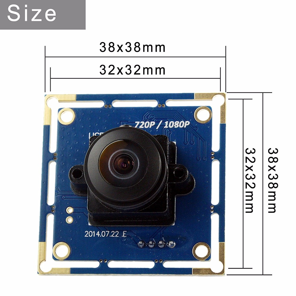 High frame rate 120fps 1080p fisheye 180 car reversing camera module ELP USBFHD01M L180 high frame rate 120fps 1080p fisheye 180 car reversing camera  at soozxer.org